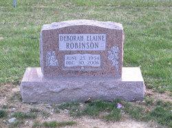 Deborah Elaine Robinson