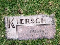 Frieda Caroline Maria <i>Kuehl</i> Kiersch