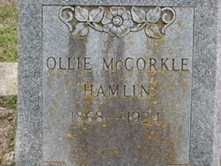 Ollie <i>O'Banion</i> McCorkle Hamlin