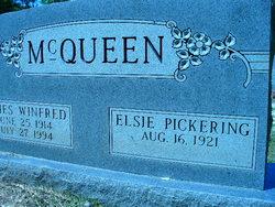 Elsie <i>Pickering</i> McQueen