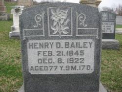 Henry D Bailey