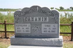 Cleveland J Cahanin