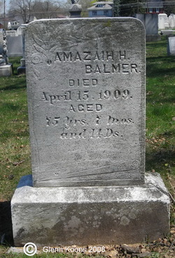 Amazaih H Balmer