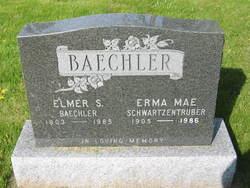 Erma Mae <i>Schwartzentruber</i> Baechler