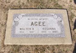 Walter B. Agee
