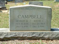 Mattie Elizabeth <i>Adams</i> Campbell
