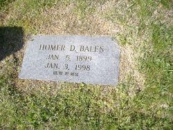 Homer Daniel Bales