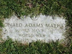 Donald Adams Mayhew