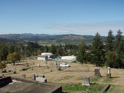 Myrtle Point Pioneer Cemetery (old)