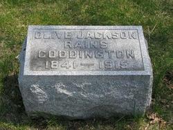 Olive Merinda <i>(Jackson) Rains</i> Coddington