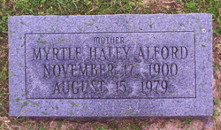 Myrtle E <i>Haley</i> Alford