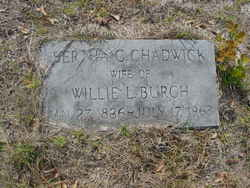 Bertha C. <i>Chadwick</i> Burch