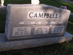 June <i>Ellis</i> Campbell