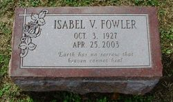 Isabel Virginia <i>Young</i> Fowler
