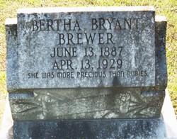 Bertha <i>Bryant</i> Brewer