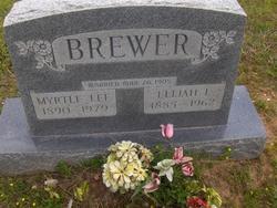 Myrtle Lee <i>Finch</i> Brewer