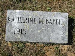 Katherine Maida Babbitt