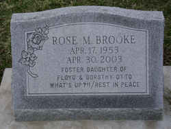 Rose M Brooke