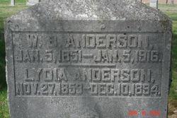 W B Anderson