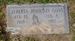 Alberta <i>Johnson</i> Goss