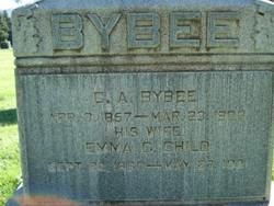 Emma Caraline <i>Child</i> Bybee