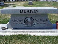 Marie <i>Clements</i> Deakin