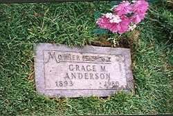 Grace Marie <i>Hartman</i> Anderson