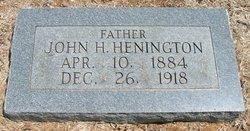 John Herbert Henington