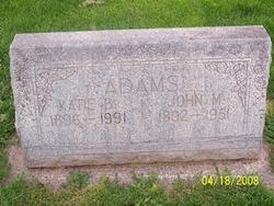 Katie Gertrude <i>Briggs</i> Adams