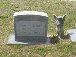 Bessie Burgess Barbee
