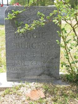 Maggie <i>Sykes</i> Burgess