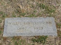 Willie L Dunn