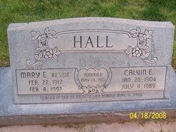 Mary Elizabeth Bessie <i>Collier</i> Hall