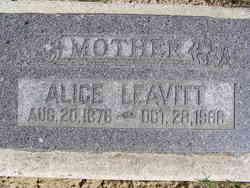 Alice <i>Mnu</i> Leavitt