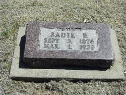 Sadie <i>Williams</i> Adams
