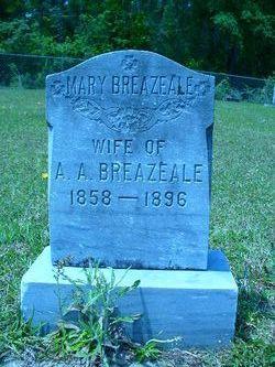 Mary <i>Hudson</i> Breazeale