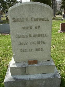 Sarah Swope <i>Caswell</i> Angell