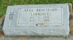 Vena <i>Lawrence</i> Broussard