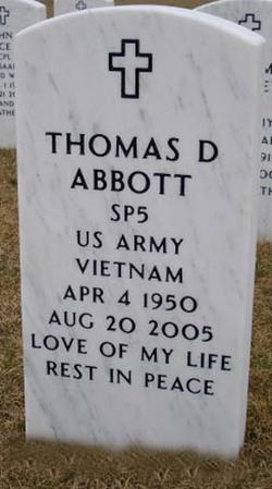 Thomas D Abbott