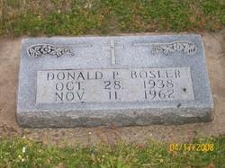 Donald P Bosler
