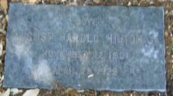 August Harold Hilton, Jr