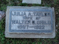 Julia Amanda <i>Taylor</i> Child