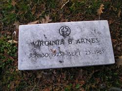 Virginia B. <i>Wood</i> Arnes