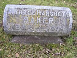 Myrtle Rosinda <i>Hanchett</i> Baker