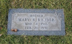 Mary Barbara <i>Kolich</i> Kajder