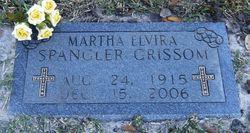 Martha Elvira <i>Spangler</i> Grissom