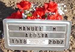 Manuel M Acosta