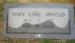 Mary <i>Lake</i> Arnold