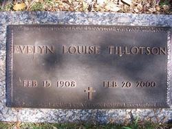 Evelyn Louise Tillotson