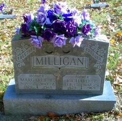 Margaret Elizabeth Lizzie <i>Baugher</i> Milligan